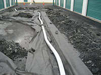 Drainage Tile / French Drain / Under Drain