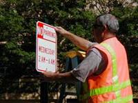 Parking Lot Sign Installation NJ