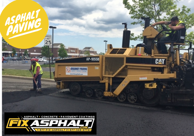 NJ Commercial Parking Lot Paving