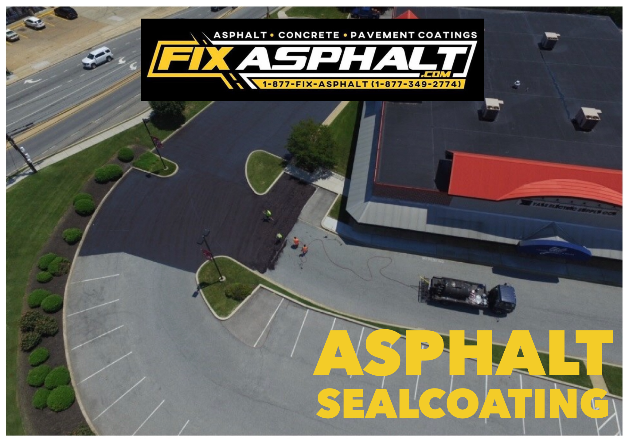 New Jersey Asphalt Sealcoating
