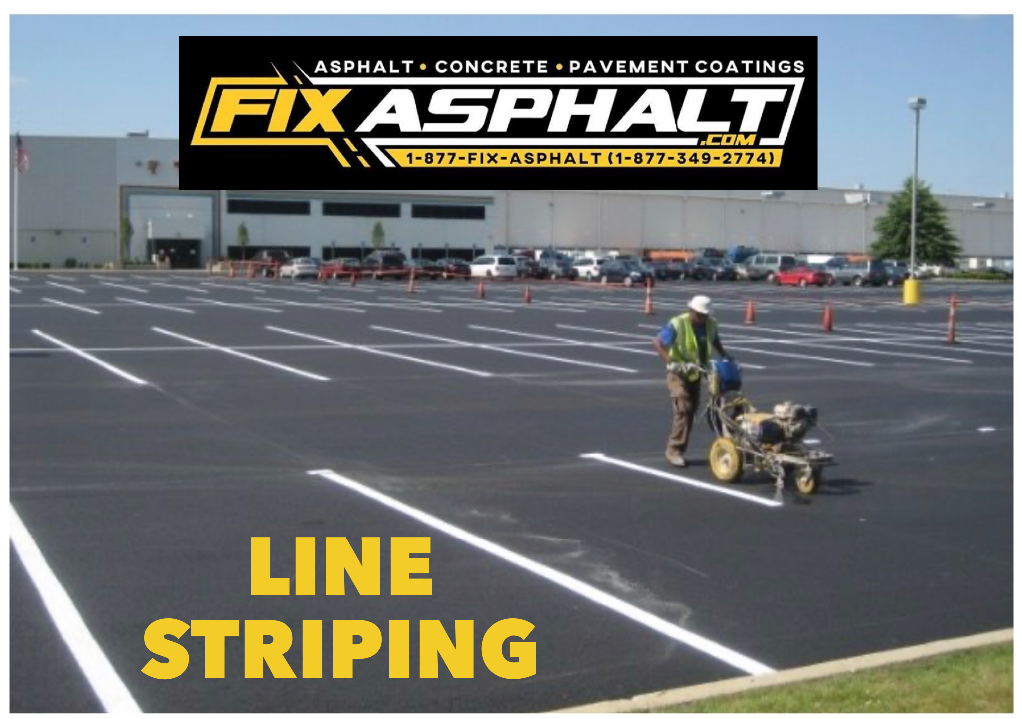 New Jersey Line Striping Contractor