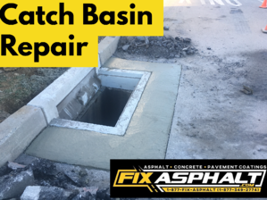 NJ Catch Basin Repair