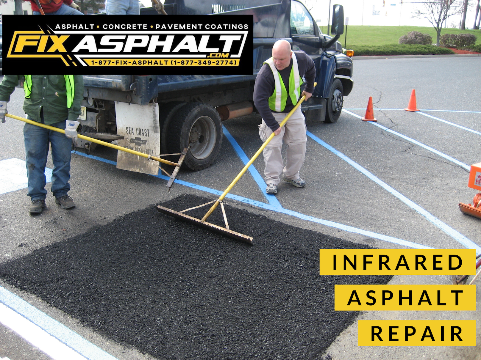 NJ Infrared Asphalt Repair