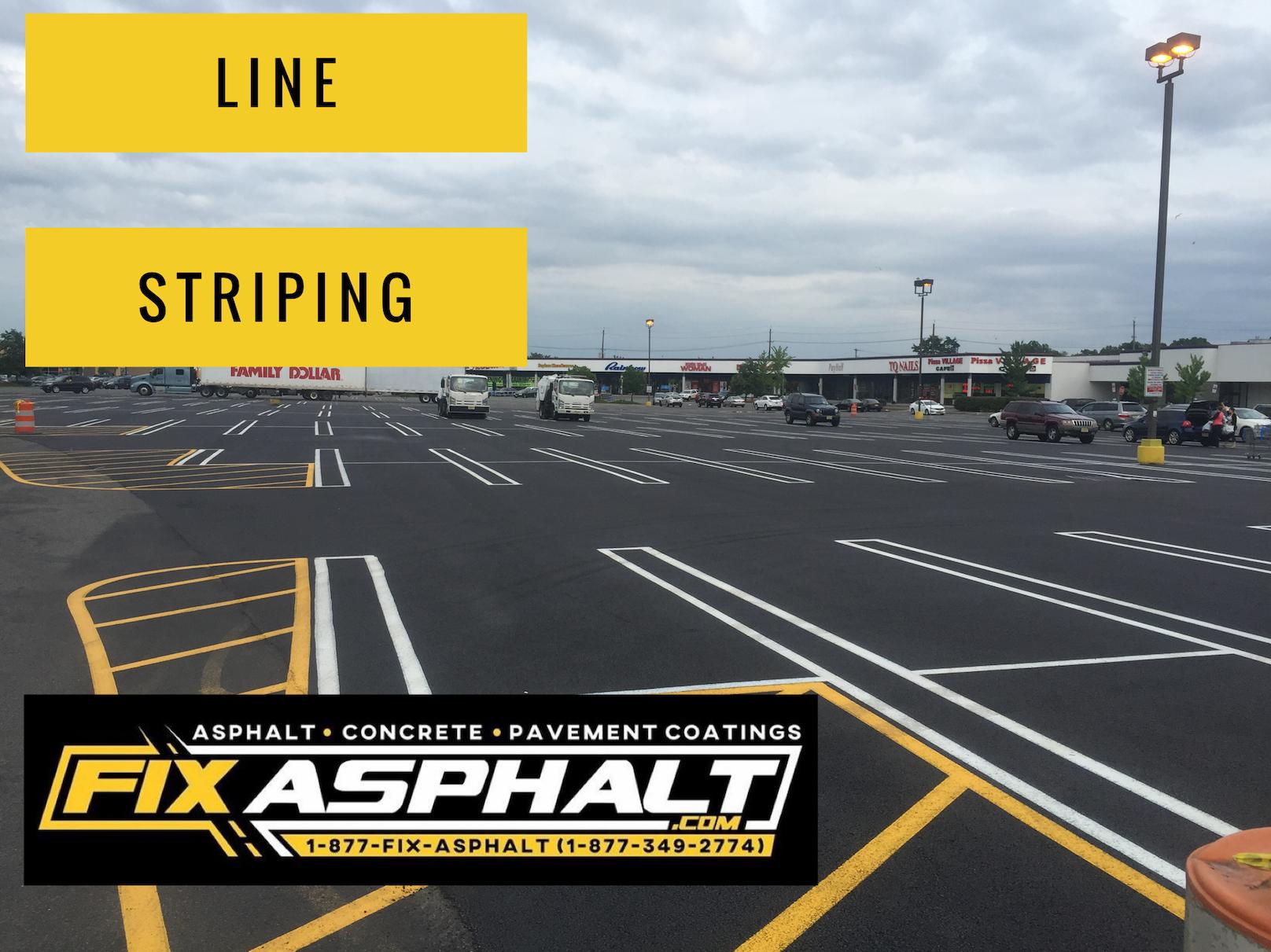 NJ Parking Lot Line Striping