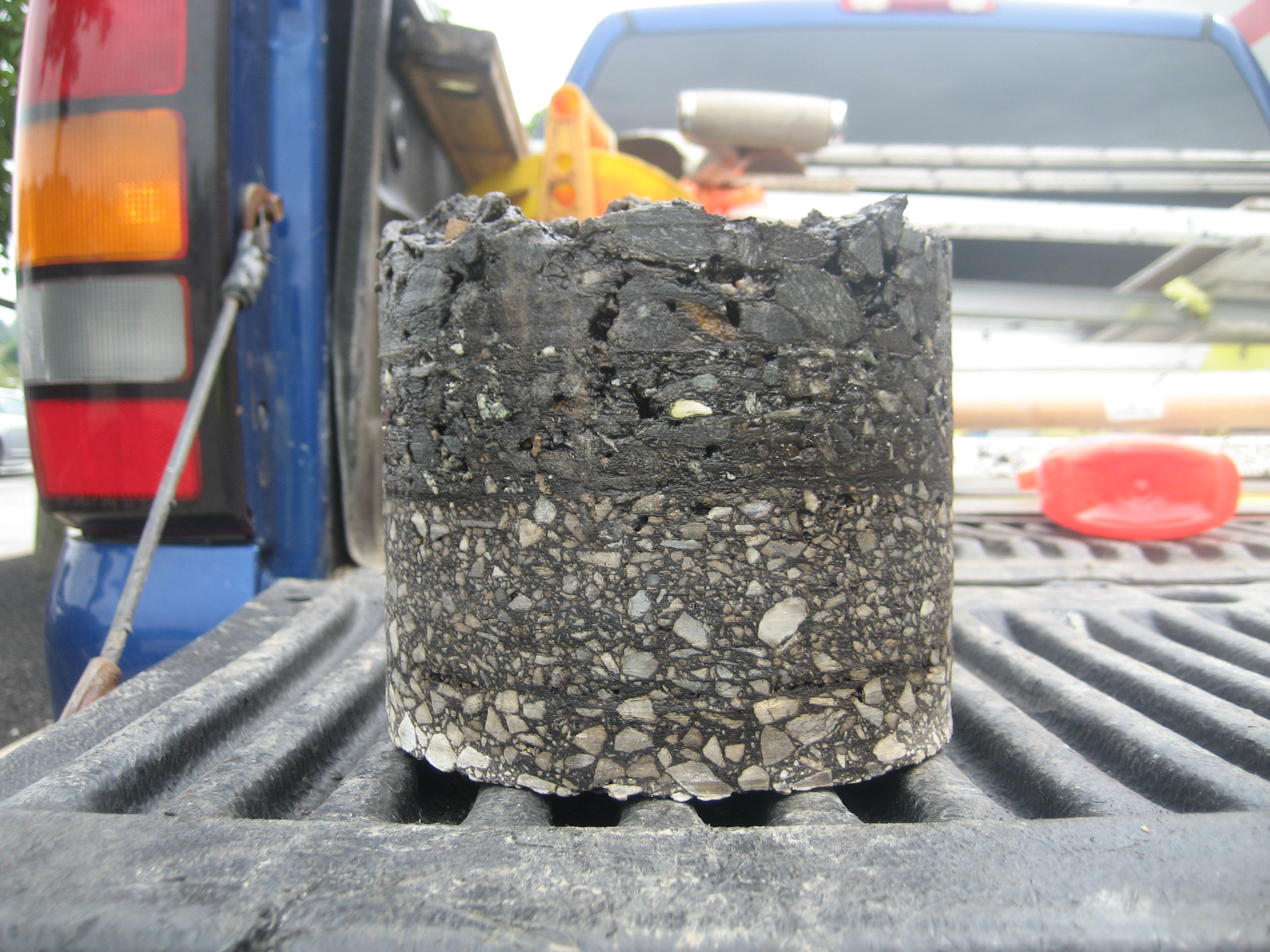Asphalt Core Sample
