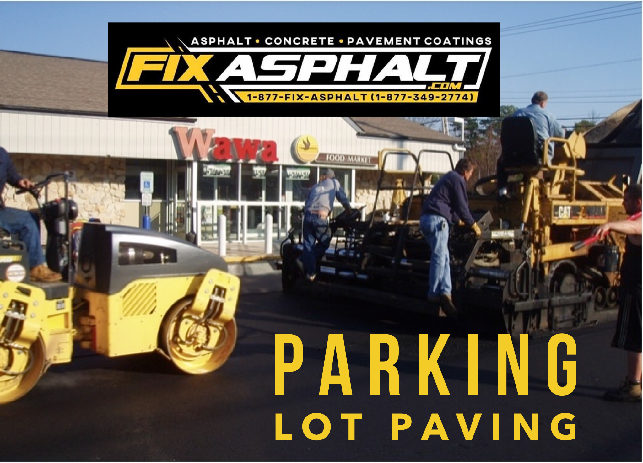 DE Parking Lot Paving Contractor