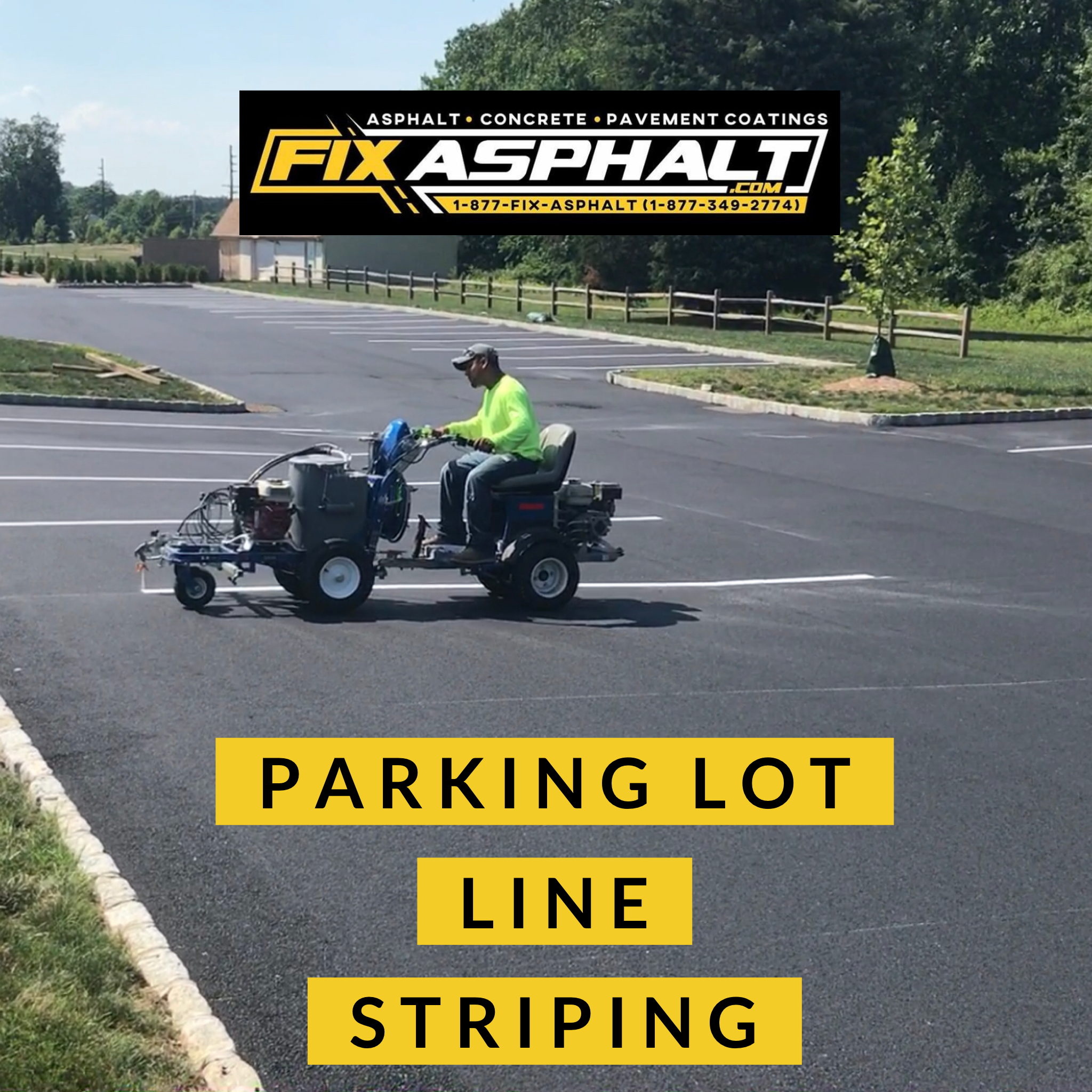 NJ Parking Lot Striping