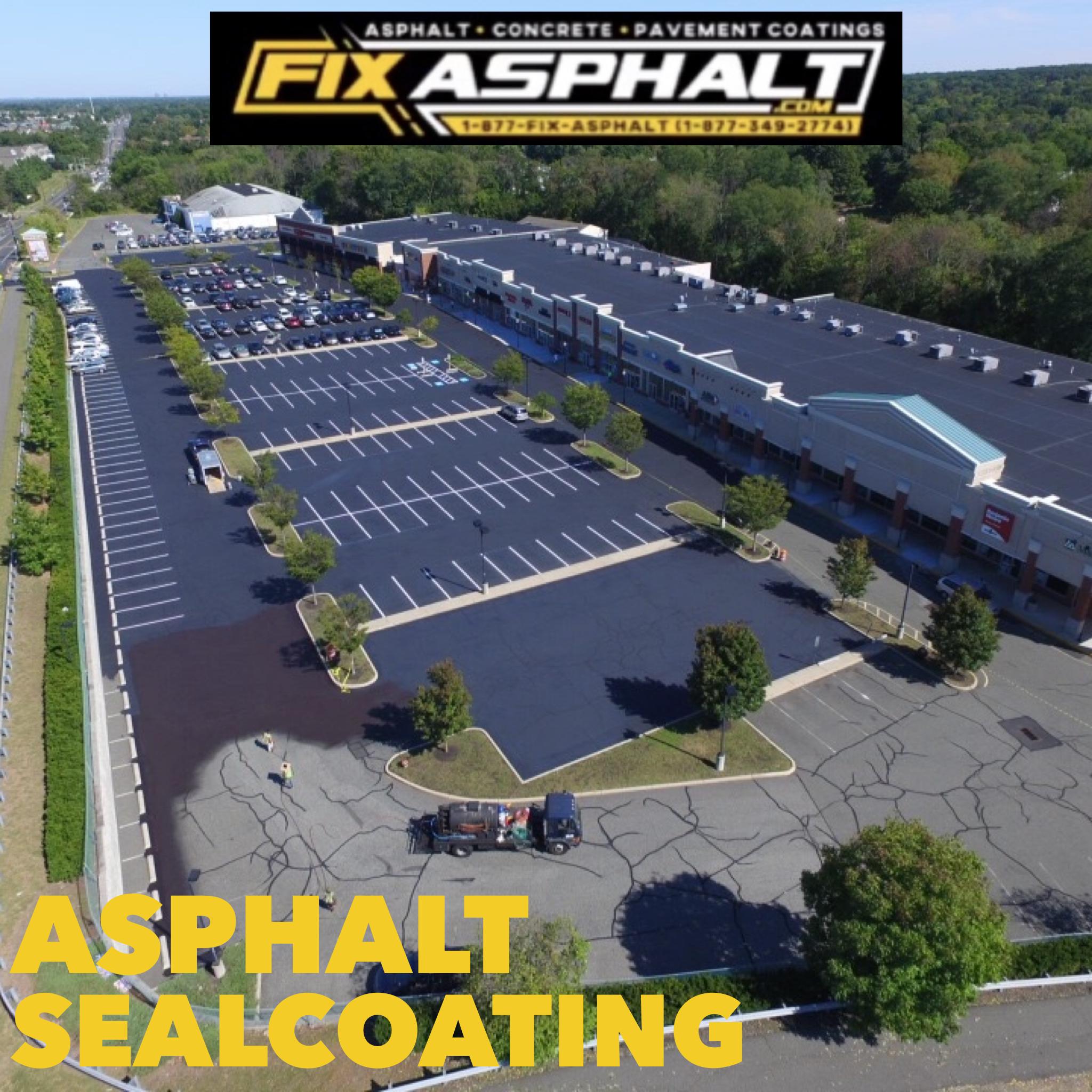 Parking Lot Sealcoating Branchburg NJ