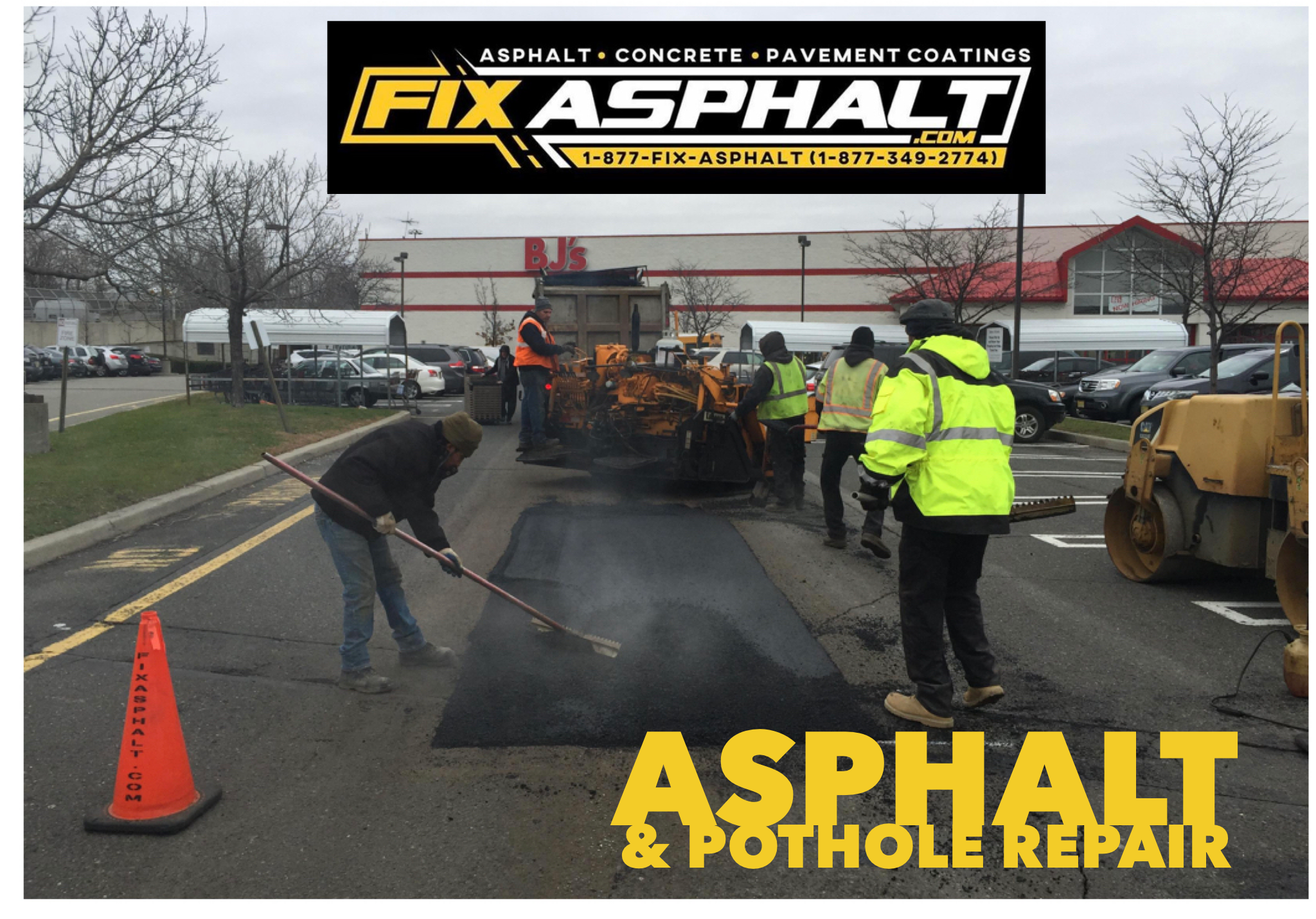 Delaware Commercial Asphalt Parking Lot Contractors