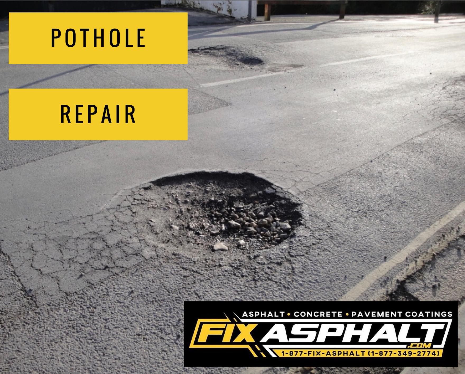 NJ Pothole Repair